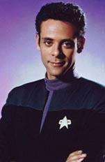 Photo of Star Trek DS9's  Dr. Julian Bashir