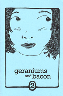 Cover of Geraniums and Bacon, issue 2