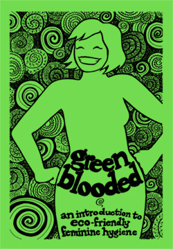 Cover for minicomic *Greenblooded*