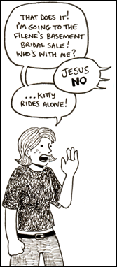 Panel from *Geraniums and Bacon* issue 5