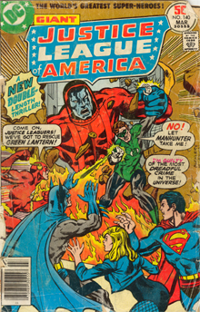 Cover, JLA issue 140
