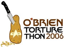 Logo: O'Brien TortureThon 2006