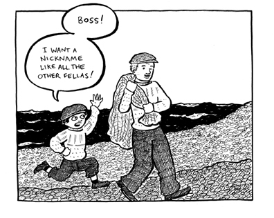 Sample panel from *Reggie & Brian and the Lousy Nickname*