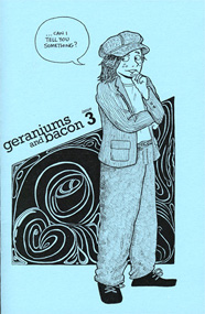 Cover of minicomic _Geraniums and Bacon_ issue 3