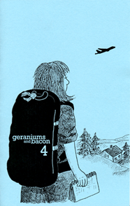 Cover of Geraniums and Bacon issue #4