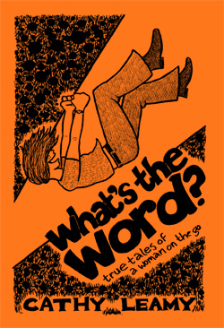 Cover of minicomic *What's the Word?* by Cathy Leamy
