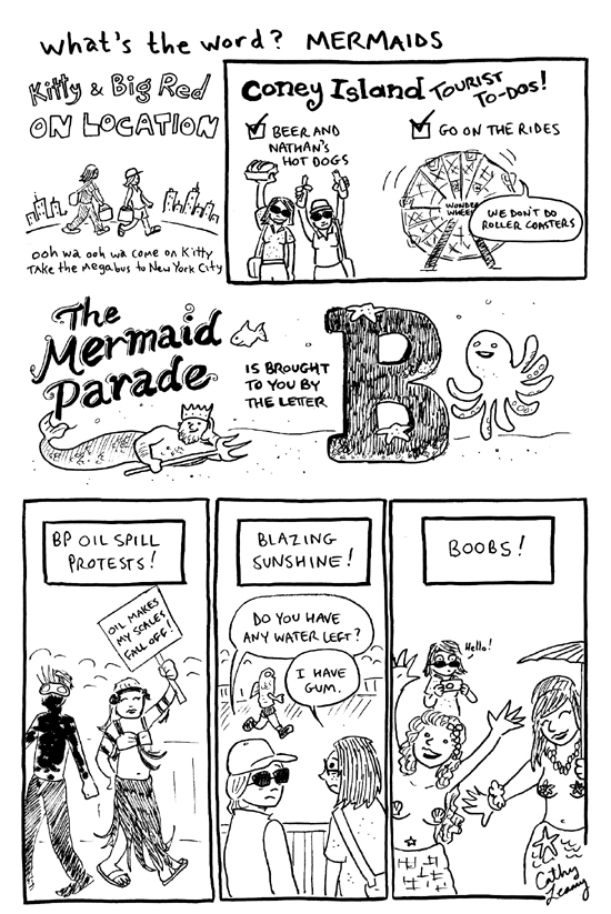 Comic - What's the Word? Mermaids