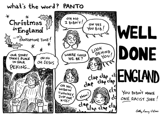 Comic - What's the Word? Panto