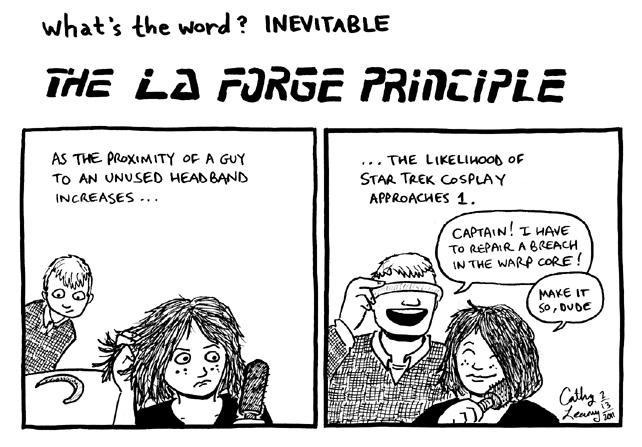 Comic - What's the Word? Inevitable